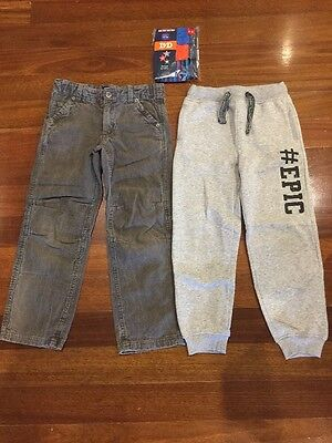 2 Pairs Of Boys Size 7 Pants