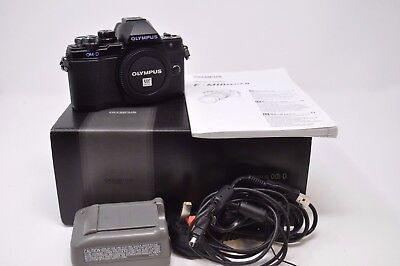 Olympus OM-D E-M10 Mark II Compact System Camera Body Only-Used