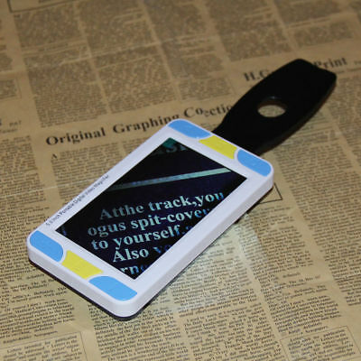 5 inch portable mobile digital electronic video magnifier reading aid for low
