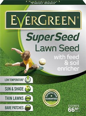 Scotts Evergreen Super Seed 2KG 66m2 Feed & Soil Enricher 119458