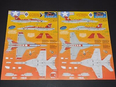 F/A-18F Super Hornet VFA-102 Diamondbacks Astra Decals - Nr. ASD-7215 – 1:72