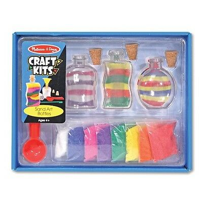 NEW Melissa and Doug Sand Art Bottles -Kids Colourful Sand Bottle Craft Activity