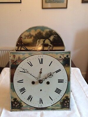 Antique Grandfather Clock Movement