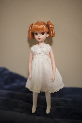 Licca chan 1st gen repro 20th anniversary Sausage curls redhead Doll