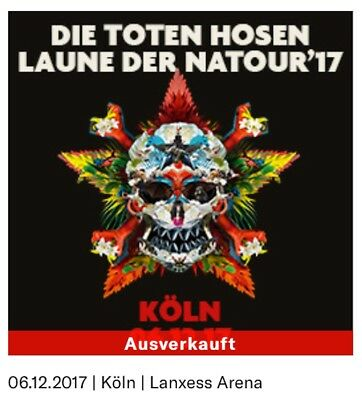 die toten hosen d sseldorf 2 karten ticket. Black Bedroom Furniture Sets. Home Design Ideas