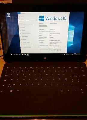 Microsoft Surface Pro 2 Pro (I5 4Gb SSD 128 Gb Windows 10 + accessoires)