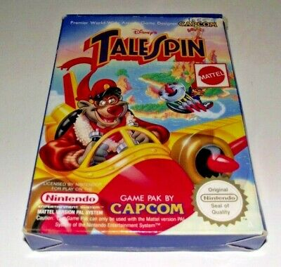 Disney's Talespin Nintendo NES Boxed PAL *No Manual* #2
