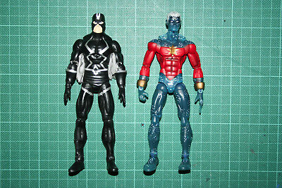 Marvel Legends Black Bolt Nemesis Cap Marvel Variant Two Twin Pack Inhumans