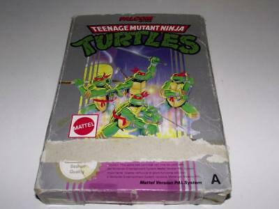 Teenage Mutant Ninja Turtles Nintendo NES Boxed PAL *No Manual*