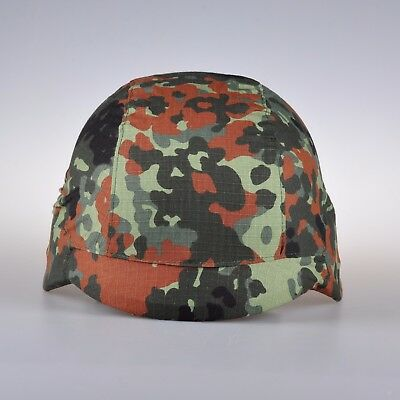 Germany Woodland Camouflage Helmet Cover (Not included helmet) Size-S/M