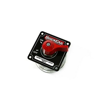 QuickCar 55-011 Black Complete Master Disconnect Emergency Cut Off Switch 4 Post