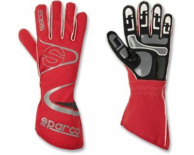 Sparco Arrow-K Red Racing Gloves Handschuhe - Size Medium / 10 - For Kart, Moto