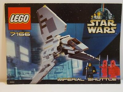 Lego Star Wars 10212 Imperial Shuttle Ucs Original Instruction
