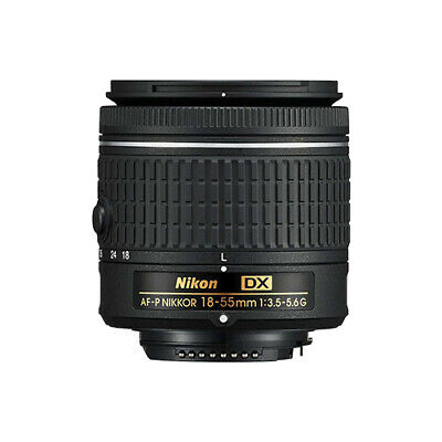Nikon 18-55mm f/3.5-5.6G AF-P DX NIKKOR Zoom Lens ORIGINAL BOX