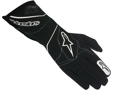 Alpinestars Tech 1-KX Karting Gloves Handschuhe Black / White Medium