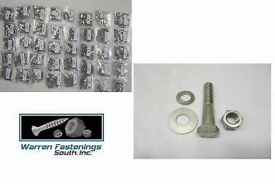 3365PC Grade 5 Coarse Thread Bolt, Washer, Nut & Stop Nut Assortment