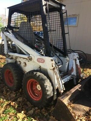 Bobcat M600 M610 Skid Loader Skid Steer
