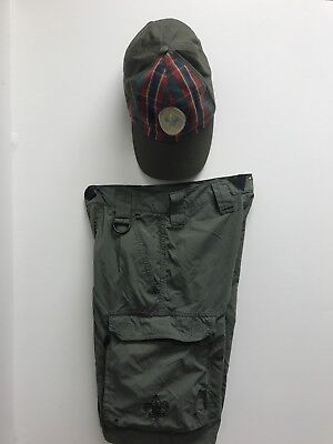 Boy Scout Of America Hat And Youth Medium Shorts used