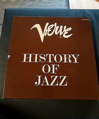 Verve History of Jazz 10 LP Set 2615 044