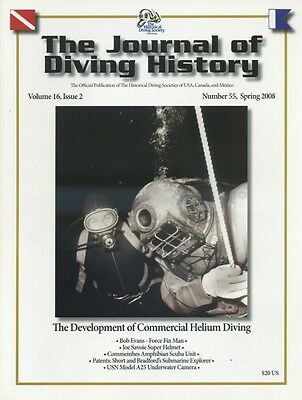 Helium Commercial Technical Diving Helmet USN USS Squalus Mixed Gas Scaphandre T