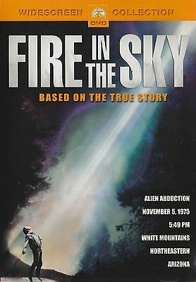FIRE IN THE SKY A TRUE STORY (1993) - D.B. Sweeny - JAMES GARNER RARE DVD
