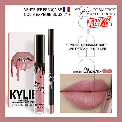 Maquillage make up Lip kit KYLIE JENNER 2017 Lipstick CHARM Tenue Longue Durée