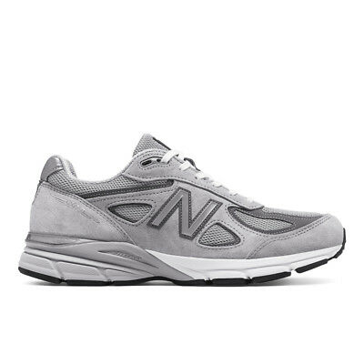 New Balance M990GL4: 990 Made in the USA Gray Castle Rock Mens Running Sneaker