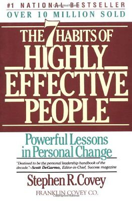 THE SEVEN HABITS OF HIGHLY EFFECTIVE PEOPLE ebook-pdf FREE SHIP