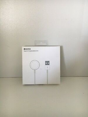 NEW Apple Watch Magnetic Charging Cable 0.3m A1570 in White