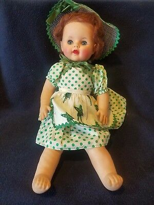 """1955 vintage Green Giant 'Country Girl Doll' 18"""" Advertising Premium"""