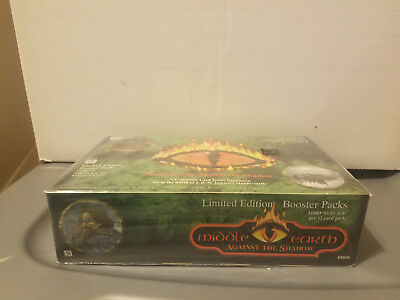 Middle Earth CCG Against the Shadow Factory Sealed Booster Box Limited Edition