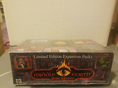 Middle Earth CCG Dark Minions Factory Sealed Booster Box Limited Edition