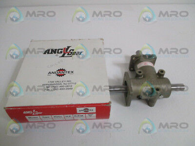 "Angl Gear R3300 Right Angle Bevel Gear 5/8"" Hp: 1800 Ratio 1:1 *new In Box*"