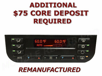 REMAN 96 97 98 99 BMW 3 Series E36 Digital AC Heater Climate Control EXCHANGE