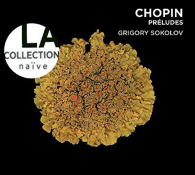 Grigory Sokolov - La Collection Naive-Preludes Op.28  Cd New+ Chopin,Frederic