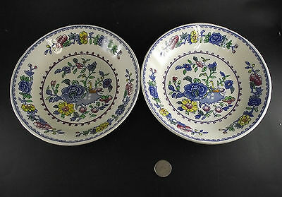 """2  7 3/4""""  Masons Regency Coupe Soup Bowls Or Cereal Bowls   Location 4488"""