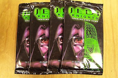 Star Wars Jedi Knights Booster Packs Lot of 4 Packs New and Sealed