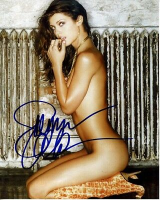 August 2000 Playboy Playmate Summer Altice Autographed SEXY 8x10!