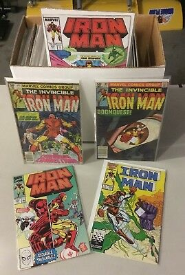 MARVEL Lot of 125 Iron Man Comic Books   Storage Unit Find