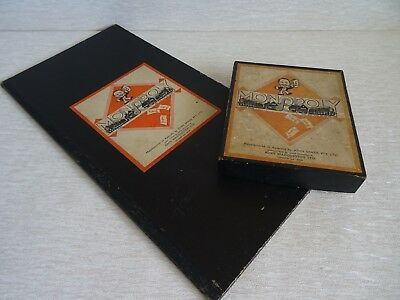 Vintage Monopoly Board Game Pat. App For No. 3796-36