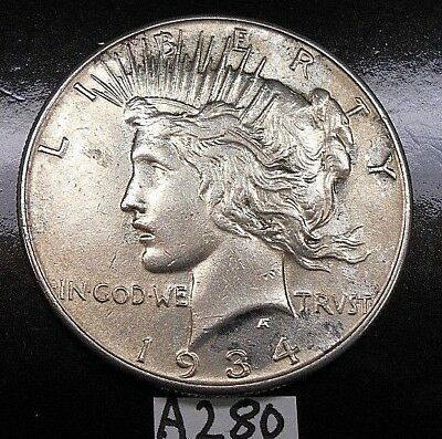 1934(P) Peace Silver Dollar ~ Semi-Key Date ~ Free Shipping