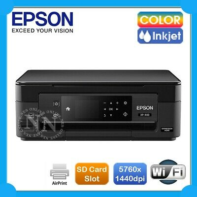 Epson Expression Home XP-440 3in1 Wireless Photo Inkjet Printer+AirPrint #288