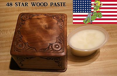 48 Star Gun Wax & Wood Paste, Veteran Made In The Usa,
