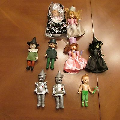 Madame Alexander Miniature McDonalds Doll ~ Lot of 9 from Wizard of Oz