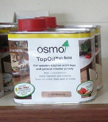 OSMO TOP OIL NATURAL KITCHEN BENCH TOPS 500ml