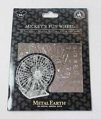 NEW Disney Parks Metal Earth 3D Model Kit - Mickey's Fun Wheel