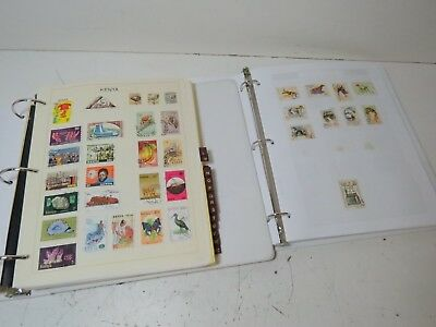 Large Mixed Lot of Vintage International Worldwide Stamps in Notebooks