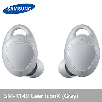 Samsung SM-R140 Gear IconX  Wireless Fitness Earbuds Headphones New 2018 - Gray