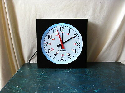 Leitch Adc-5112-L Broadcast Back Light Wall Clock