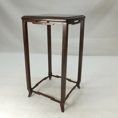 D012: Japanese quality KARAKI wooden decorative stand with good style